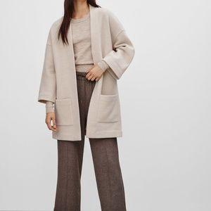 aritzia Wilfred BRULLON SWEATER coat jacket